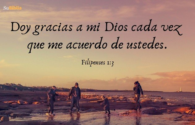 Filipenses 1:3